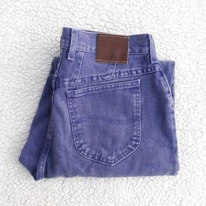 Vintage Lee mom Riveted Jeans Slim Fit Tapered Leg